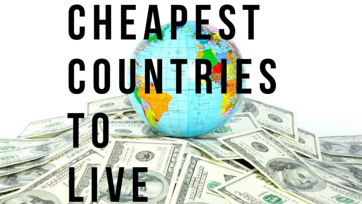 cheapest places to live in the world