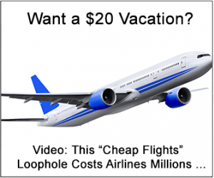 how to get free flights