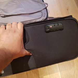 Samsonite light luggage