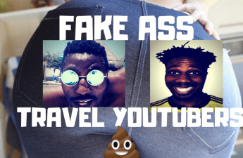 FAKE TRAVEL YOUTUBERS