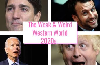 weak western leaders 2021